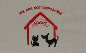 we are not disposable Free Pet Rescue designs