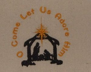 Pray embroidery designs