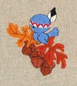 bird embroidery