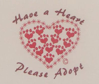 Have a Heart Free embroidery designs