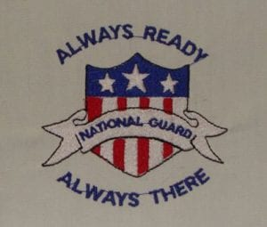 Always there Always ready Free Patriotic Design