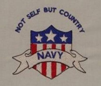 Not Self But Country Navy Free Patriotic Designs