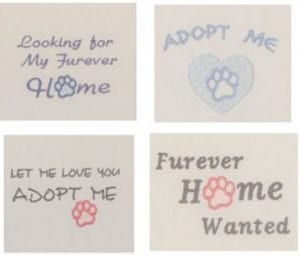 Four Free Pet Rescue designs