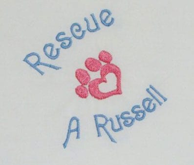 Rescue a Russell embroidery