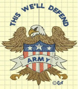 this we'll defend Army Free Patriotic Designs