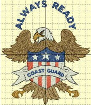 Always Ready Coast Guard Free Patriotic Designs
