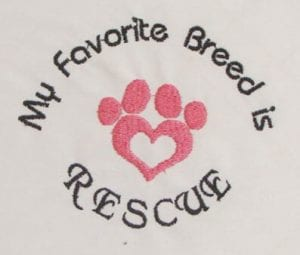 Dog Rescue free embroidery