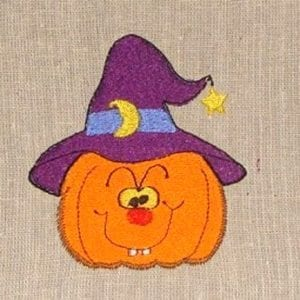 pumpkin master Halloween machine embroidery design