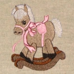Toy horse Machine Embroidery