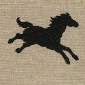 running horse Machine Embroidery