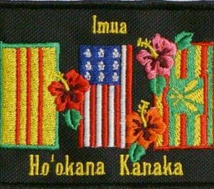 Hawaii State, Viet Nam,  Original Native Hawaiian patch