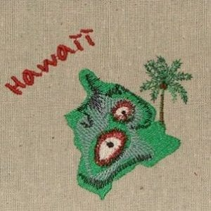 Island Hawaii Machine Embroidery