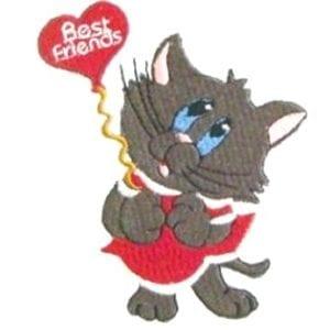 cute cat embroidery designs