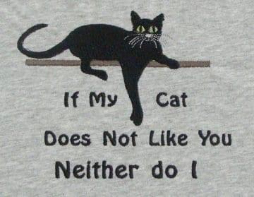 my cat Machine Embroidery