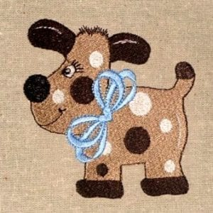 Best spotted dog embroidery design