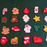 Christmas Advent Calendar Machine Embroidery
