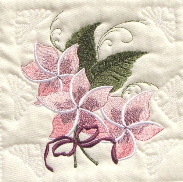 best flower embroidery design