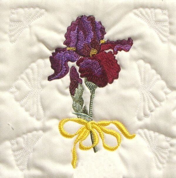 beautiful flower quilt machine embroidery designs