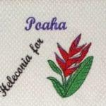 Machine Embroidery Hawaiian Day Name poaha