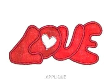 Heart Love best embroidery design