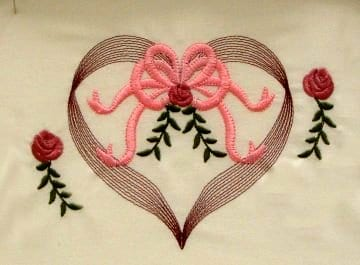 beautiful embroidery flower pattern