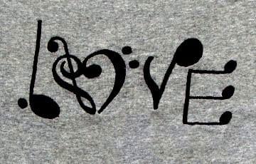 Love music Machine Embroidery