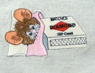 Mice R Nice Matchbox Mouse Machine Embroidery