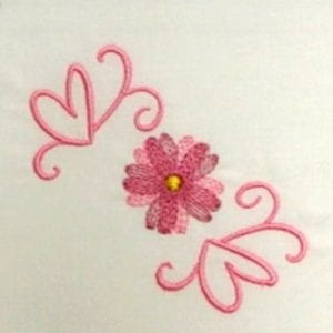 cute embroidery flower patterns