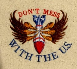 Embroidery design US Army